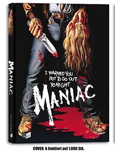 Maniac - Limited Uncut Mediabook Edition - 1000 Stk.- DVD - Blu-ray