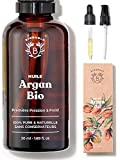 HUILE D'ARGAN BIO | 100% Pure, Naturelle & Pressée à Froid | Visage, Corps,...