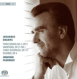 Brahms: Works for Piano by Jonathan Plowright (2014-08-03)