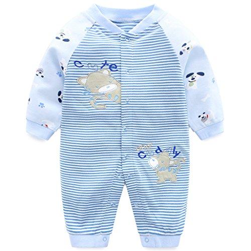 Recién Nacido Pijama Algodón Mameluco Niñas Niños