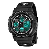Dreamingbox Boys Toys Age 5-12, LED 50M Waterproof Digital Sport Watches for Kids Christmas Birthday...