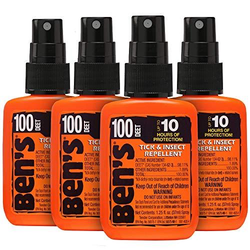 Ben's 100 Insect Repellent Pump 1.25oz (Pack of 4)