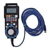 LKAIBIN Máquina de grabado CNC Rueda de mano con cable, sistema de control de movimiento torno CNC 100PPR máquina CNC para sistema de control de movimiento MACH3