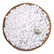 Natural stone: made of natural stone material, non-toxic, no additives Size: 0.23-0.35in, measuring weight is 1.8kg(3.96lb)) Multiple uses: the product can be used in flower pots, fish tanks, walkways, water features, vase fillers, and Succulent plan...