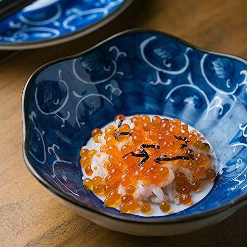 NO BRAND Inicio vajilla Cuenco de arroz Pintado a Mano japonés/de cerámica/Cuenco/de Postre Cuenco/bolígrafos / 300 ml