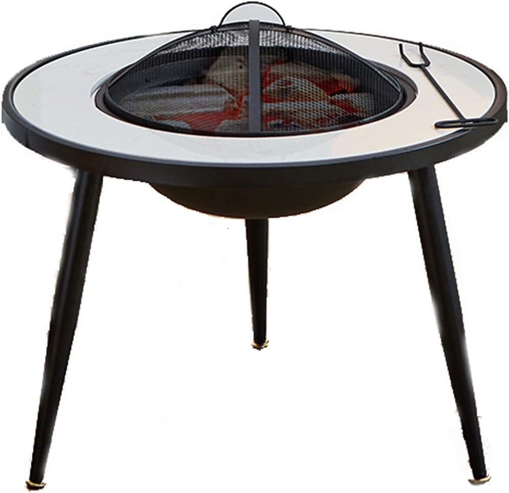 HLEZ Backyard Patio Garden Fireplace Wood Burning BBQ Fire Pit Industry No. 1 Ranking TOP13 G