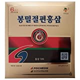 Pocheon 300g(10.6oz) 6Years Sliced Korean Panax Red Ginseng Roots with Honey, Saponin