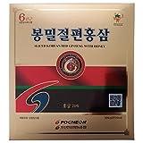 Pocheon Ginseng 300g 6 Años Cortado Las raíces de Ginseng Coreano Panax Rojo con Miel, Saponina