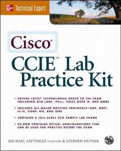 Cisco CCIE Lab Practice Kit, m. CD-ROM (McGraw-Hill Technical Expert Series.)