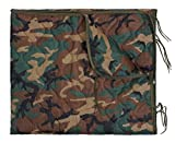 Rothco GI Type Rip-Stop Poncho Liner with Zipper, Woodland Camo