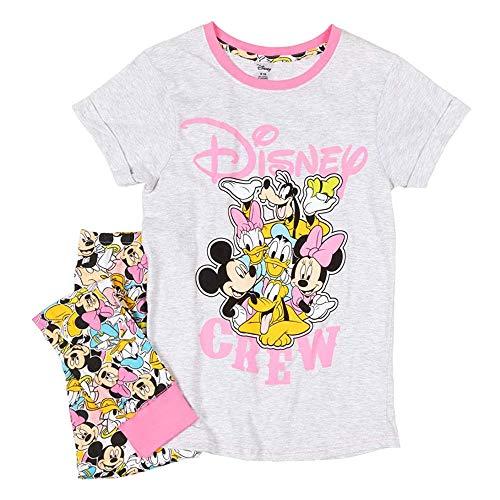 Disney Mickey Mouse y Amigos Conjunto de Pijama de Las Mujeres: Medio (12-14)