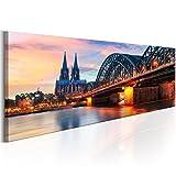murando - Bilder Köln 120x40 cm Vlies Leinwandbild 1 TLG