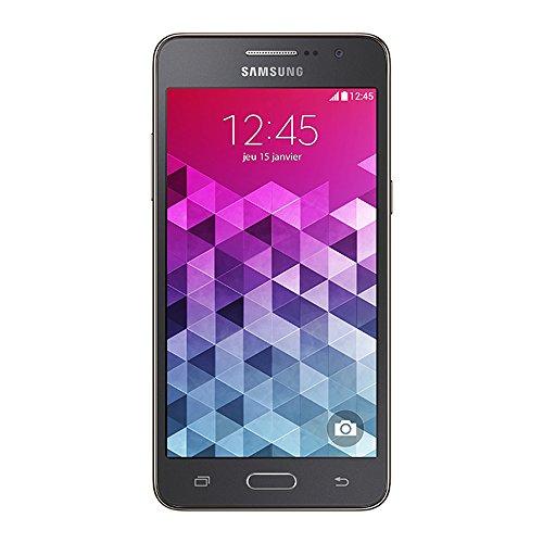 Samsung Galaxy Grand Prime Smartphone débloqué 4G (Ecran : 5 pouces - 8 Go - Simple MicroSIM - Android 5.1 Lollipop) Gris