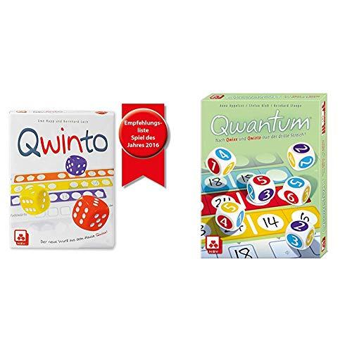 NSV - 4036 - QWINTO - Würfelspiel & 4076 - QWANTUM - Würfelspiel