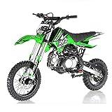 X-PRO 125cc Dirt Bike Pit Bike Adults Dirt Bikes Pit Bikes Youth Dirt Pitbike 125 Dirt Bike,Green