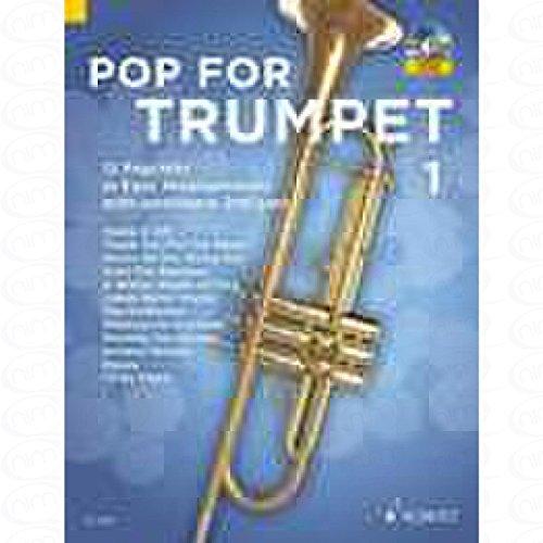 Pop for Trumpet 1 - arrangiert für Trompete - (für ein bis zwei Instrumente) - mit CD [Noten/Sheetmusic]