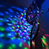 Brightz CruzinBrightz LED Bicycle Lights, Tri-Colored - Blinking Lighting - Nightlight Bike Accessory for Kids and Adults, Quick Clamp Install on Frame or Handlebars