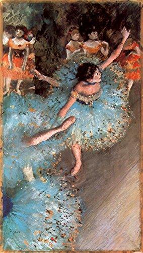 Das Museum Outlet–Die grünen Dancers by Degas–Poster (61x 45,7cm)