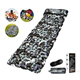 Best Backpacking Sleeping Pads - MTOUOCK Camping Sleeping Pad, Ultralight Inflatable Camping Mat Review