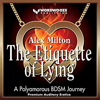 The Etiquette of Lying: A Polyamorous BDSM Journey audiobook cover art