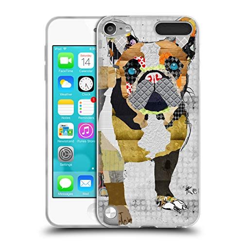 Head Case Designs Officially Licensed Michel Keck French Bulldog Dogs 4 Soft Gel Case Compatible with Apple iPod Touch 5G 5th Gen