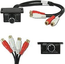 Universal Car Amplifier Bass Knob Control Via Rca Rca Audio Interconnect LC-1