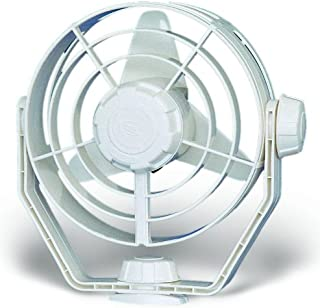 HELLA 003361022 '3361 Series' 12V DC 2 Speed Turbo Fan with White Housing