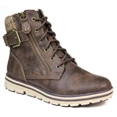 Shaft Height: 5 inches Sweater collar with buckle detail Molded EVA outsole Light cushioned insole