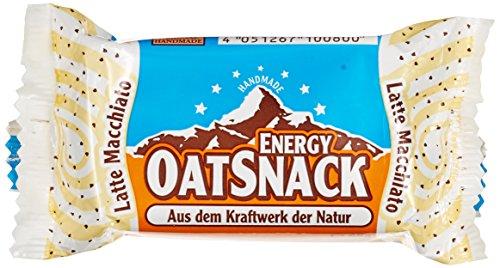 Energy OatSnack, natürliche Riegel - von Hand gemacht, Latte Macchiato, 30 x 65 g, 1er Pack (1 x 1950 g)