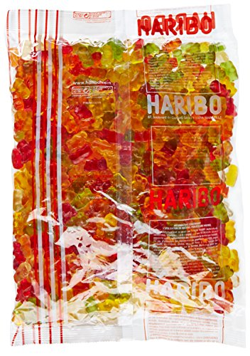 Haribo Bonbon Gélifié l'Ours d'Or 2 kg