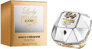 Lady Million Lucky by Paco Rabanne Eau de Parfum Spray 2.7 Ounce