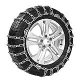 Cadenas de neumáticos for automóviles / Cadenas de nieve antideslizantes-205 ~ 275MM Especificaciones Cadena de metal...