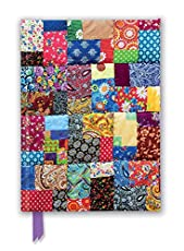 Image of Patchwork Quilt Foiled. Brand catalog list of Flame Tree Gift.