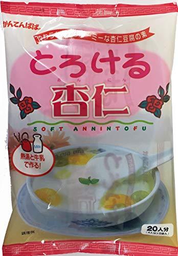 かんてんぱぱ とろける杏仁(杏仁豆腐の素60gX5)シロップはついていません