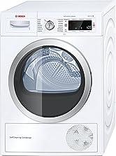 Bosch WTW875W0 Serie 8 Wärmepumpen-Trockner / A+++ / 176 kWh/Jahr / 8 kg / Weiß mit Glastür / AutoDry / SelfCleaning Condenser? / SensitiveDrying System©Amazon