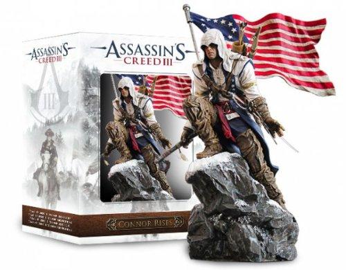 Assassin's Creed III Connor Rises Figura In PVC 30 cm