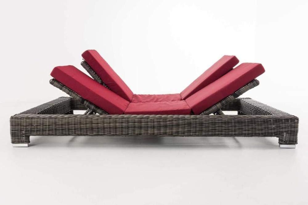 Fly to jiajia Tumbona plegable de jardín, tumbona de playa con Wellness. Muebles de Jardín Comfort LU-4123: Amazon.es: Hogar