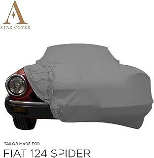 MyCarCover Autoplane In-Outdoor passend f/ür FIAT 124 Spider 124/_ Abdeckplane Autogarage Schmutzabweisend Wasserabweisend f/ür Winter /& Sommer
