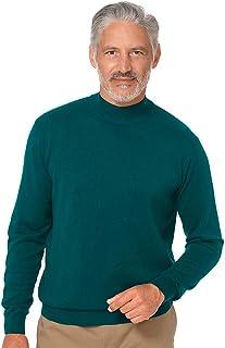 Paul Fredrick Men's Silk, Cotton \ Cashmere Mock Neck...