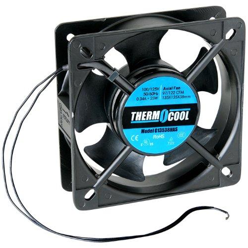 Thermocool 100 125 VAC Model# G8025-A1 Fan 80 x 25mm Sleeve Bearing 19 CFM