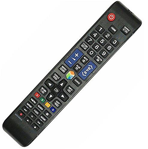 Mando a distancia (nuevo sustituto) AA59–00638A - Apto para TV Samsung 3D AA59–00638A - Smart LED, LCD - UE46ES7500S, PS51E8007GU, UE55ES7500S, AA59–00652A