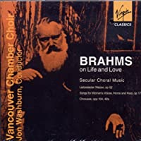 Brahms Choral Works by Vancouver Chamber Ch