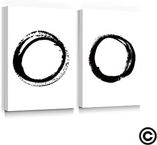 Best circle canvas art Reviews