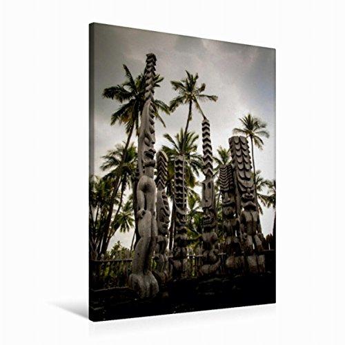 Calvendo Premium Textil-Leinwand 60 cm x 90 cm hoch, Ein Motiv aus Dem Kalender Hawaii - Inseltraum im Pazifik | Wandbild, Bild auf Keilrahmen, Fertigbild auf Echter Leinwand, Leinwanddruck Orte Orte