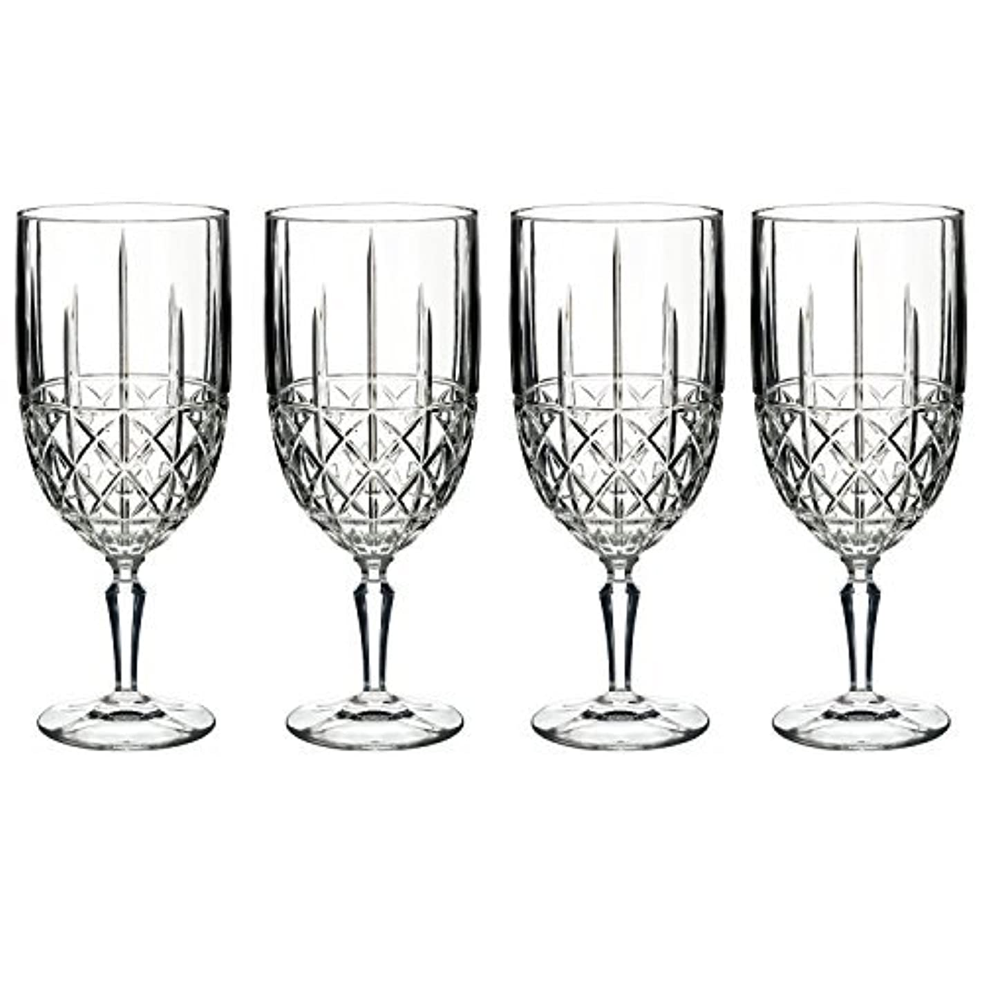 誕生敬意意味のあるMarquis by Waterford Brady Iced Beverage Glass (Set of 4), Clear by Marquis By Waterford