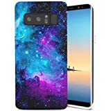 Samsung Galaxy Note 8 Case, ZUSLAB Slim Shockproof Flexible TPU, Soft Rubber Silicone Skin Cover for Samsung Galaxy Note 8 (Purple Nebula)