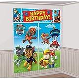 Paw Patrol - Set de cumpleaños: guirnalda para fiestas (Amscan International...