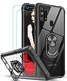LeYi für Samsung Galaxy M31 Hülle mit Panzerglas