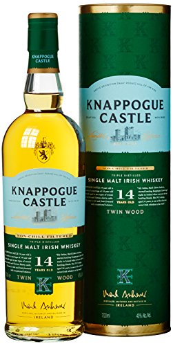 Knappogue Castle 14 Years Old Single Malt Twinwood Whisky mit Geschenkverpackung(1 x 0.7 l)
