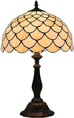 Lámpara de mesa de Tiffany sencilla de 12 pulgadas en Europa